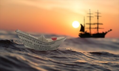 長い航海の末にかいじゅうたいのいるところへ