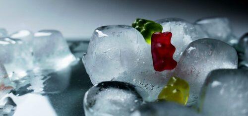 溶けてしまったアイス