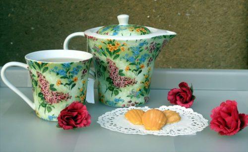 紅茶&マドレーヌ