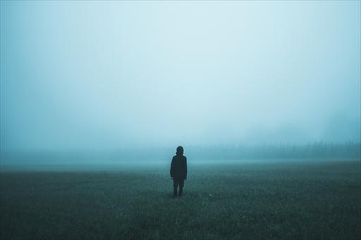 山霧の中にも偏在する息子