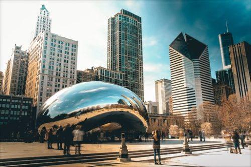 シカゴにある彫刻